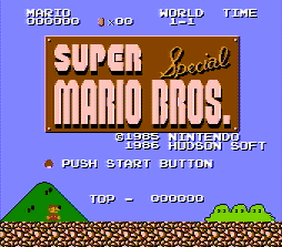 Super Mario Bros Special by Hudson Soft